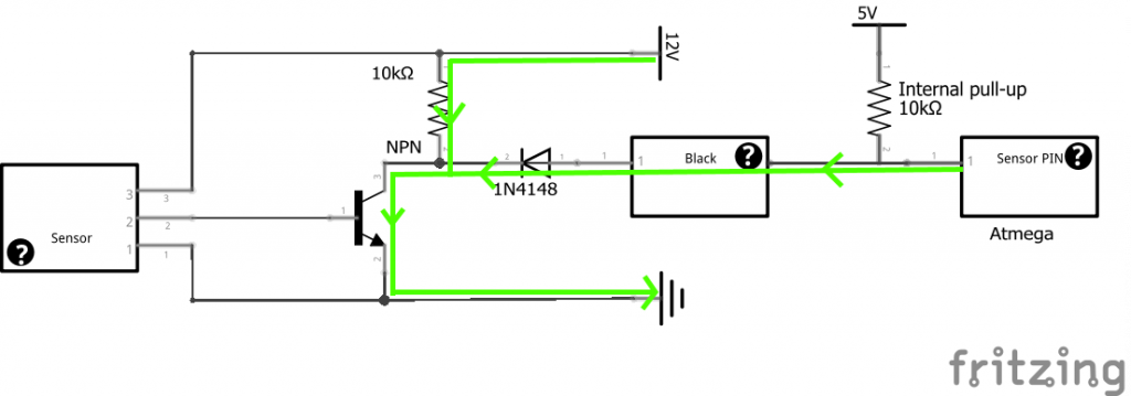 Don't Trust The Inter And How To Add An Inductive Proximity. Current Flow When The Sensor Is Closed. Wiring. 3 Wire Proximity Sensor Diagram At Scoala.co